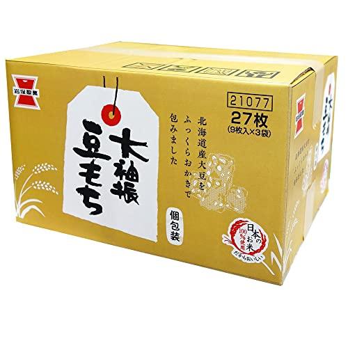 岩塚製菓 箱 大袖振豆もち 27枚