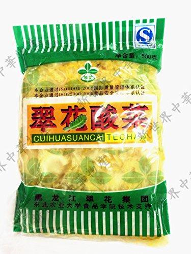 中国本場酸菜 翠花酸菜 (白菜の酢漬 )中華料理人気商品・東北地方名物・鍋用・餃子の具等500g