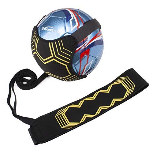Senston Fußball Ball Wasserdicht Training Fussball mit Fußball Kick Trainer Fußballtrainer