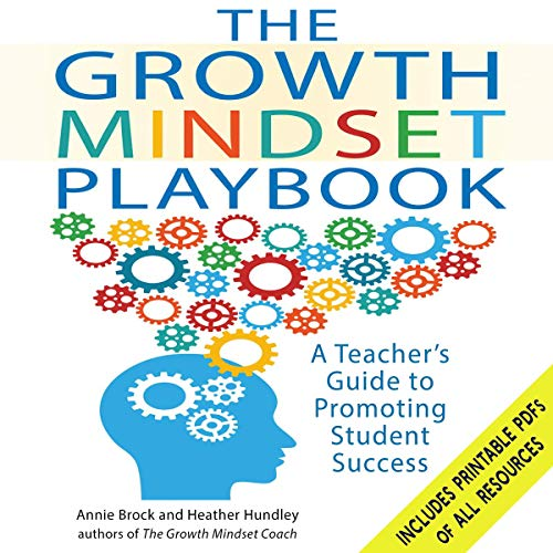 The Growth Mindset Playbook audiobook cover art