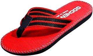 3bea88953978b Tenworld Men s Flip Flops Sandals Casual Shoes for Men Beach Slipper Black