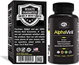 AlphaViril™ by Dr Sam Robbins | Natural Testosterone Booster for Men & Women, Increase Strength, Energy, Stamina, Performance, Build Muscle | Made in USA | Tongkat Ali Extract, Horny Goat Weed, Zinc