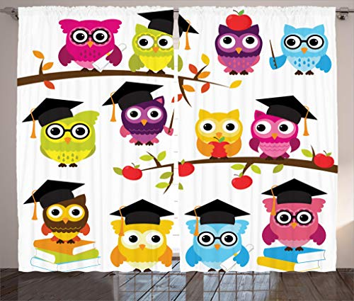 Smart Owls Curtains
