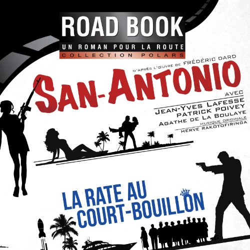 La rate au court-bouillon (San-Antonio 58) audiobook cover art