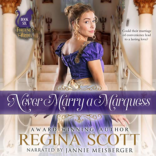 Never Marry a Marquess cover art