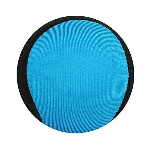 Xiton Wasser Flummi Skipping-Ball Wasserball-Spielzeug Spaß Wassersport Spiel für Familienreisen (Black & Blue) 1PC