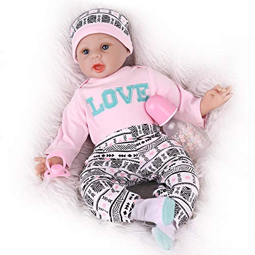Kaydora Reborn Baby Doll, 22 inch Lifelike Weighted Baby Doll for Girl