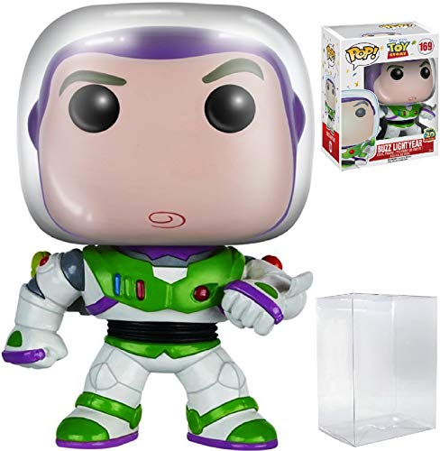 "Disney Pixar: Toy Story - Buzz Lightyear ""20th Anniversary"" Funko Pop! Vinyl Figure (Includes Compatible Pop Box Protector Case)"
