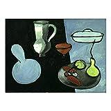 LDTSWES Nordic Abstract Picture Puzzles Puzzle, Holz Matisse Gemälde 1000 Stück Puzzle, Für Kinder Geschenke Spielzeug Puzzle Kein Rahmen
