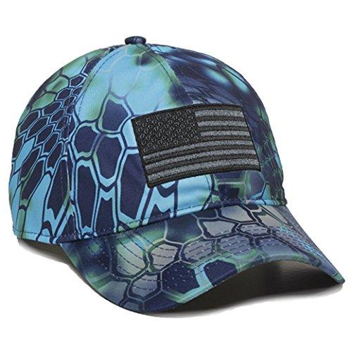 Kryptek Pontus Camo USA Flag Hat/Cap