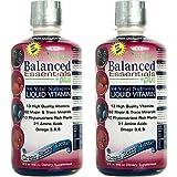 Wellgenix Balanced Essentials Liquid Vitamin for High Absorption - Nutritional Multivitamin Supplement - Boosts Immune System and Overall Health - Berry Flavor (32 oz) (2)
