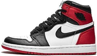 Air Jordan 1 AJ1 Retro High OG Basketball Shoes Satin WMNS 'Black Toe' CD0461-016