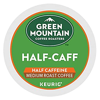 Green Mountain Coffee Half-Caff 48 K-Cups for Keurig Brewers  Packaging May Vary