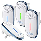 OIO Ultrasonic Pest Repeller, 2020 Upgraded Pest Repellent, Pest Control Set of Electronic