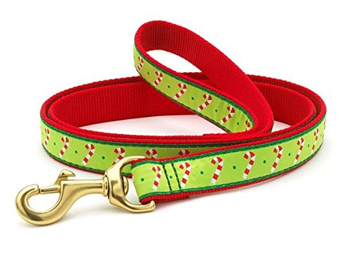 Up Country Candy Cane Lead Narrow, Larghezza 5/8 Guinzaglio per Cane