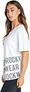 Rockwear Activewear Women's Neon Dream Logo Tee from Size 4-18 for T-Shirt Tops