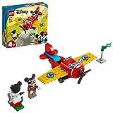 LEGO 10772 Mickey and Friends Avión Clásico de Mickey Mouse, Juguete de Construcción para Niños y Niñas +4 Años