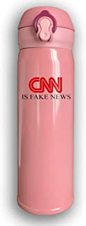 Lhgs5sv CNN Is Fake News 500 Ml Stainless Steel Insulated Water Bottle For Everybody