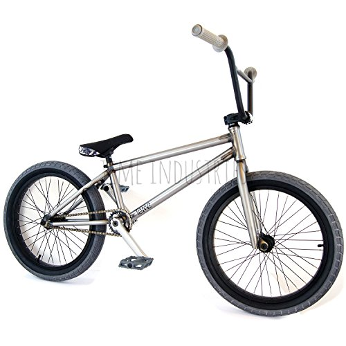 teme BMX bicicletta completa 50,8 cm Raw/grigio – Flybikes Ilegal Bsd freestyle Light New Strong