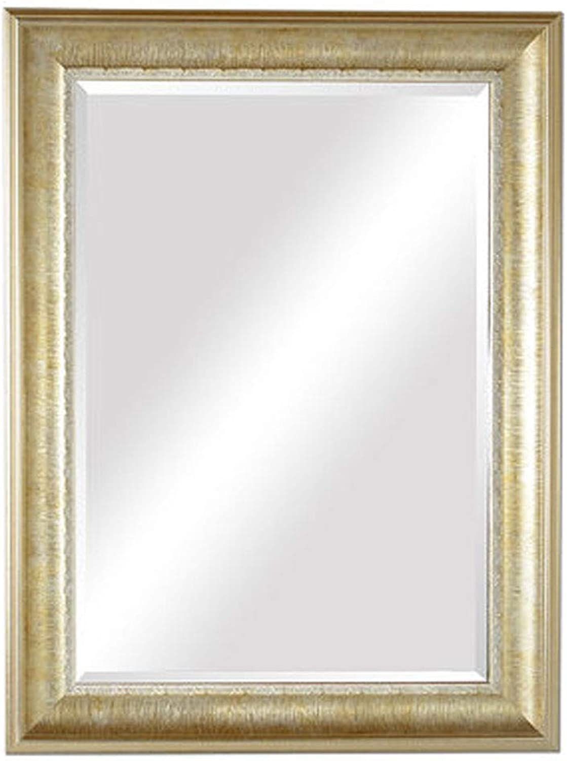 Large Rectangle Mirror Beautiful gold Wall Mirror Handcrafted Accent Mirror Hanging Mirror Large Wall Mirror for Bathroom & Entryway