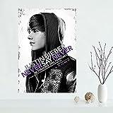Hd Leinwand Justin Bieber Poster Malerei Wandkunst