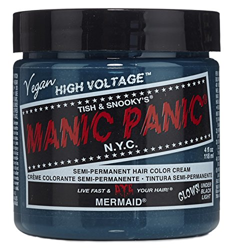 Manic Panic High Voltage Classic Cream Formula Semi-Permanente Haarfarbe 118mll (Mermaid)