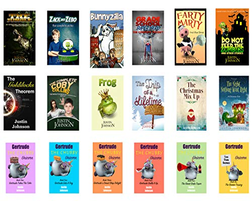 18 Full Length Chapter Books for Kids Ages 8-12