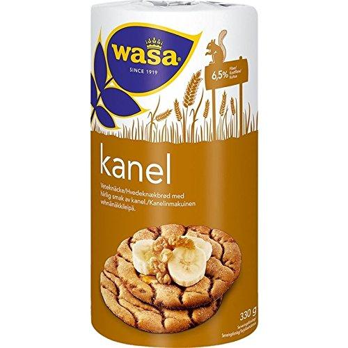 Wasa Runda Kanel - 330g Cannella Grano Biscottate (Confezione da 6)