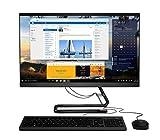 Lenovo IdeaCentre AIO 3 All-in-One, Display 23.8' Full HD, Processore Intel Core i5-1035G4, 512GB SSD, 8GB RAM, Tastiera e Mouse USB, DVD±RW, Windows 10, Black