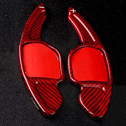 SXHNNYJ Paleta de Cambio de Fibra de Carbono, para Seat Alhambra/Ateca/Leon FR/Leon/Leon 4 5F