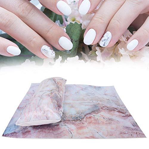 Manicure Mat, Portable Nail Table Mat Nail Care Manicure Armrest SoftNail Art Pillow Cushion Pad Washable Salon Manicure Tool(03)