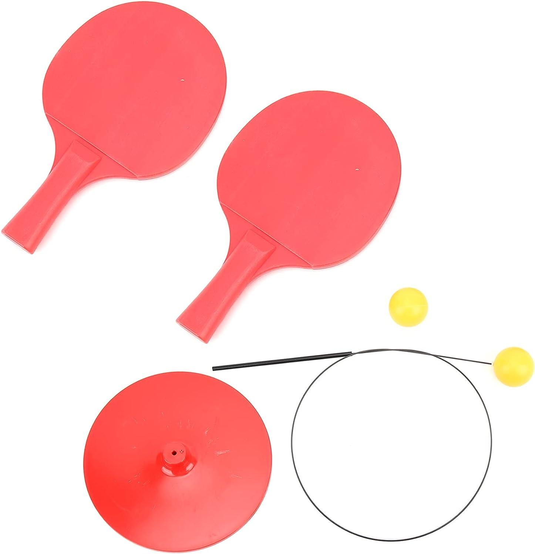 Eosnow Entrenador de Rebote de Tenis de Mesa, Entrenador de Ping Pong de Eje Suave elástico Entrenador de Tenis de Mesa práctico y elástico Suave para la interacción Entre Padres e Hijos