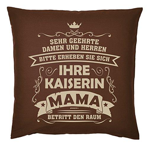 Art & Détail T-shirt Coussin : Maman Mom Fête des Mères – Vos Kaiserin Mama betritt – Comme la pièce présente