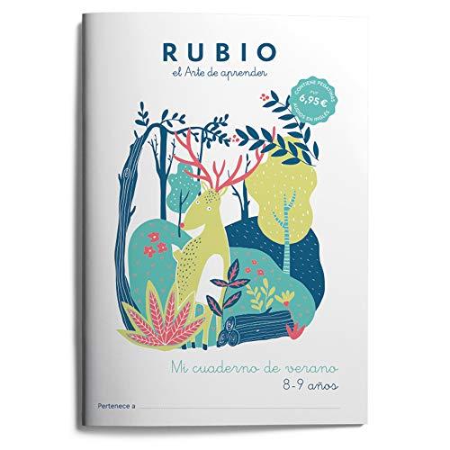 Mi cuaderno de verano RUBIO. 8-9 años: 6