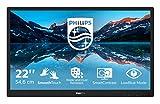 Philips 222B9TN - Monitor Touch FHD da 22', 60 Hz, 1 ms, TN, Altoparlanti (1280 x 1024, 250 CD/m² HDMI/DVI/VGA/DP/USB 3.1)