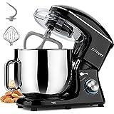 SVEWT Stand Mixer, 660W 6+1 Speeds Tilt-Head Food Mixer, Kitchen Electric Mixers with 8.5-QT...