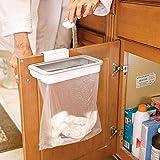 Mayazi Hanging Kitchen Cupboard Door Back Style Stand Trash Attach Holder Garbage Bags