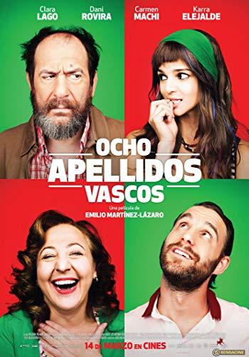 Zole Xap Ocho apellidos catalanes Movie   14inch x 20inch   Silk Printing Poster 001