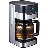 Totalmente automática, independiente Cafetera (independiente, filtro de café, 800 W), 1.5L Capacidad Cafetera Producir a 10 tazas, temporizador programable 24 horas con la amoladora WTZ012