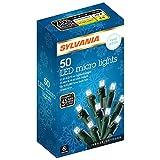 SYLVANIA 50 Lt Micro Set LED Lights, Cool White