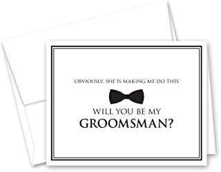 Best funny groomsmen proposal Reviews