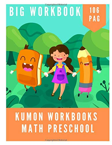 kumon math workbooks preschool: Practice for Kids with Pen Control, coloer my number , how many , write the numbers, Line Tracing, Dot-to-dot, and More!