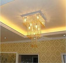 GOWE Modern LED Bulbs Crystal Chandelier Pendant Lamp RainDrop suspension Light lighting 110V/ 240V