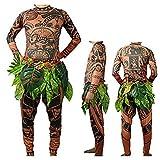 ClothHouse Tribal Imprint Tattoo Camiseta/Pantalones con Falda De...