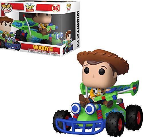 Funko - POP Rides Woody w/ RC Figura Coleccionable de Vinilo, Multicolor(Funko 37016)