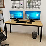 Need Computer Desk 60' Large Simple Style Office Workstation,Modern Sturdy PC Table for Work/Writing/Gaming/Study/Meeting AC3BB152.460