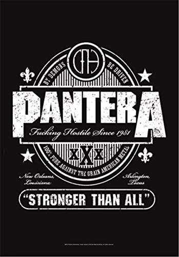 PANTERA FLAGGE / FAHNE / POSTERFLAGGE STRONGER THAN ALL