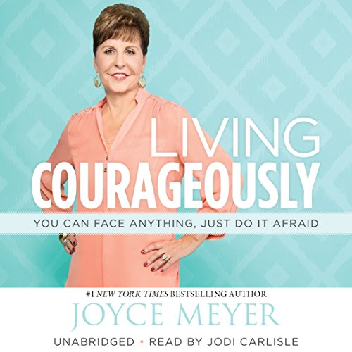 Living Courageously audiobook cover art