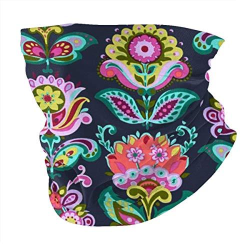 Hangdachang Solidaria Flores de jardín Lotus a prueba de viento Deportes Cara cubierta Variedad Diadema Bufanda Headwrap boca Cara Anti polvo Protector solar al aire libre