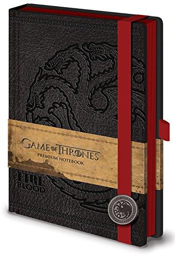 Game of Thrones SR71898Targaryen - Cuaderno A5, diseño de...